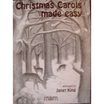 Christmas Carols Made Easy Piano Book 2 Janet King Complete Songs Chords S89