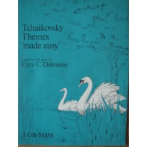 Tchaikovsky Themes '' Made Easy '' Transcribed for Piano Book Cyril Dalmaine S98