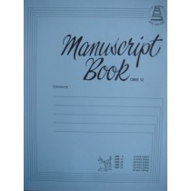 Music Manuscript Book GMS 12 ~ 12 Page A4 Book Composing Theory Notes S135