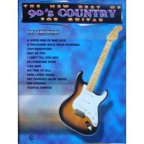 The New Best Of 90's Country For Guitar Book Easy TAB Deluxe S146