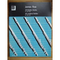 James Rae 40 Modern Studies for Solo Flute Book Universal Edition S146