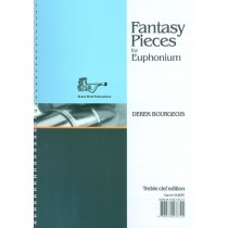 Fantasy Pieces For Euphonium Book Treble Clef Edition Derek Bourgeois S148