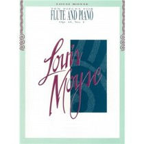 Ten Pieces for Flute And Piano Book Op 41 No 1 Louis Moyse S139