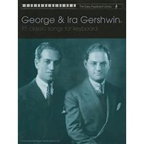 George & Ira Gershwin Book 15 Classic Songs for Easy Keyboard Library S16