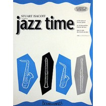 Jazz Time Clarinet Solo Book Only Stuart Isacoff S93