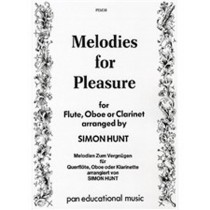 Melodies For Pleasure Flute Oboe or Clarinet book PEM 38 Simon Hunt S89