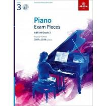 Piano Exam Pieces 2017-2018 ABRSM Grade 3 Book & CD S98