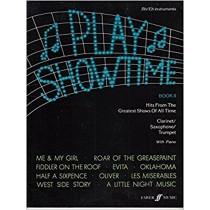 Play Showtime Book 2 Clarinet Trumpet or Saxophone & Piano S89