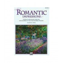 Romantic Impressions Book 2 Martha Mier Intermediate Piano Solos S158