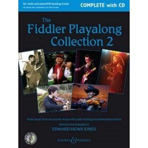 The Fiddle Playalong Collection 2 by Edward Huws Jones Book & CD S146