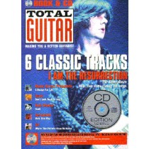 Total Guitar 6 Classic Tracks I Am The Ressurection Volume 1 Book & CD S146