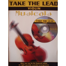Take The Lead Violin Musicals Book & CD 8 Show Stage Arrangements S137