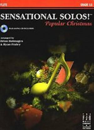 Sensational Solos Popular Christmas Flute Book CD Carols Songs Trad Grade 2+ B79