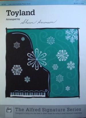 Alfred Signature Toyland Herbert Piano Solo Sheet Music Christmas Book S93