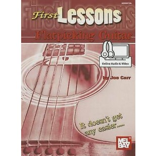 Learn To Play First Lessons Flatpicking Guitar Beginner Tutor Music Book O/L S20