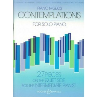 Piano Moods Contemplations Solo Sheet Music Book Intermediate Satie Bartok S29