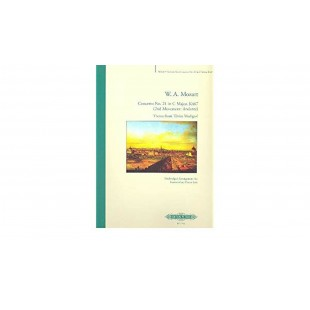 W. A. Mozart Concerto no 21 in C Major 2nd Movement Sheet Music Solo Piano B52