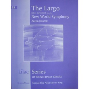 Lilac Series No 62 Largo New World Symphony Dvorak Piano Sheet Music Book S27