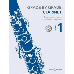 Grade By Grade Clarinet 1 Music Book CD The Complete Resource Janet Way S85