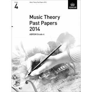 ABRSM Music Theory Past Papers 2014 Grade 4 Sheet Music Exam Book S101