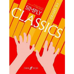 Simply Classics Piano Grades 0-1 Sheet Music Book Peter Gritton Bach Brahms S29