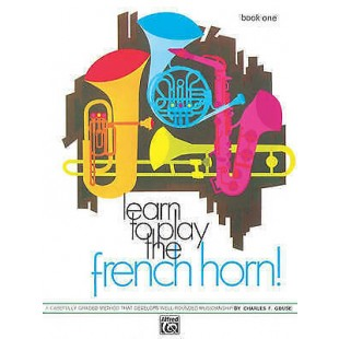 Lean to Play the French Horn Book 2 Method Sheet Music S139